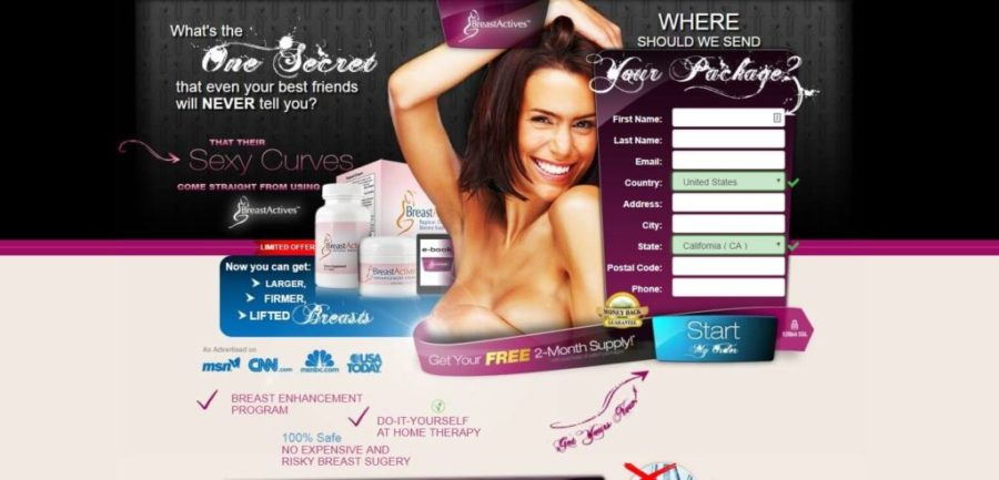 Breast Actives official website