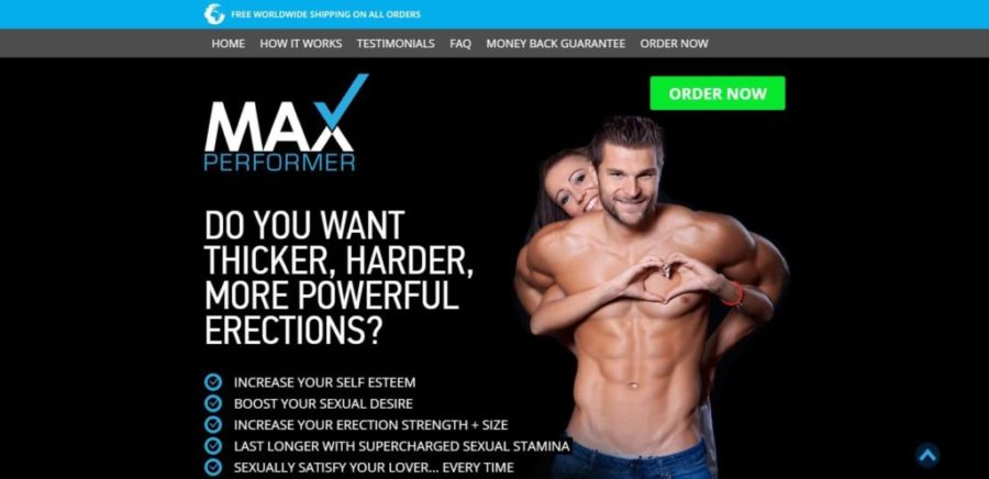 Max Performer website oficial