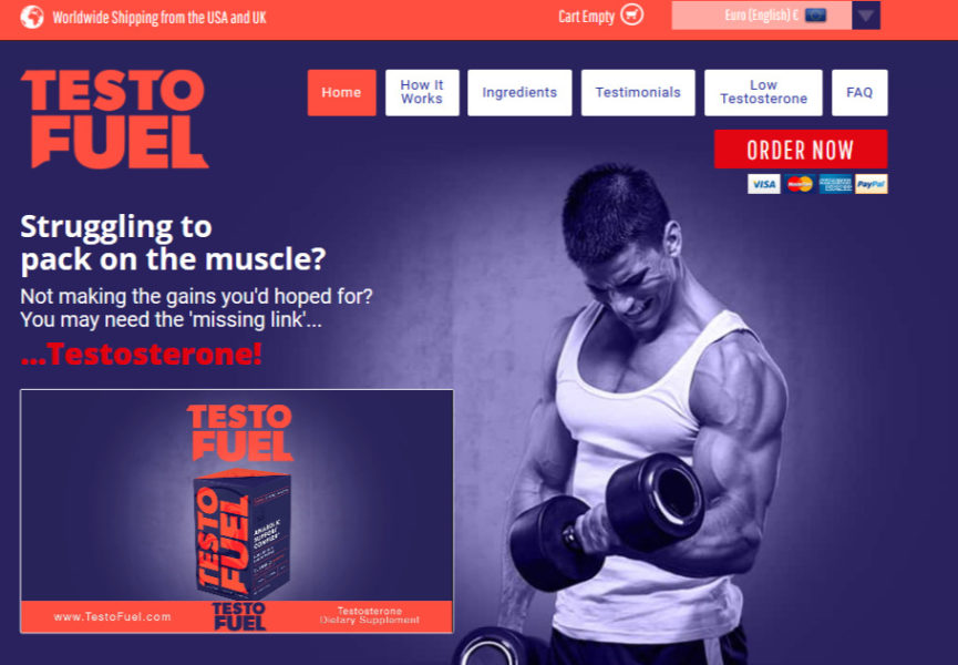 testofuel website oficial