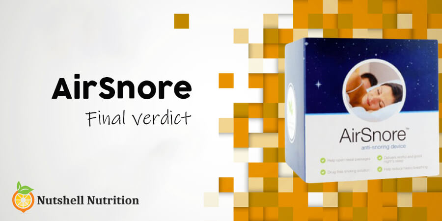AirSnore Review: Final Words