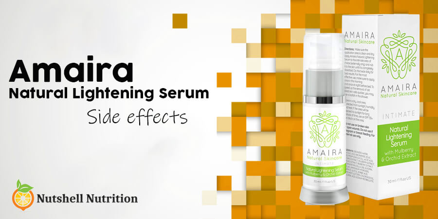 Amaira Natural Lightening Serum side effects