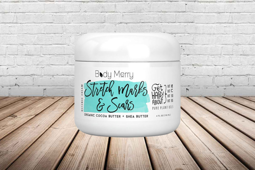 Body Merry Stretch Marks and Scars Cream Photo
