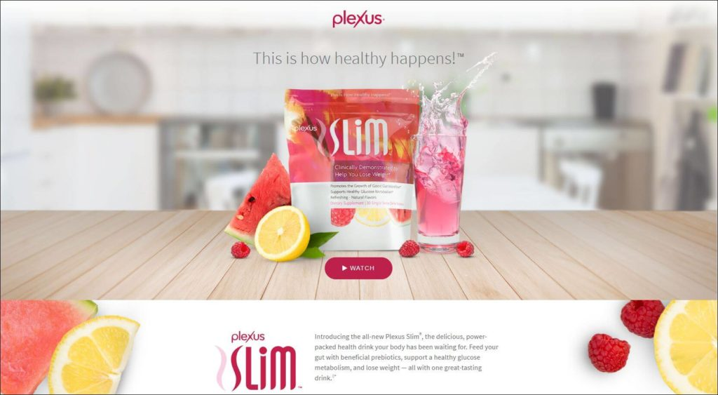 Plexus Slim official website