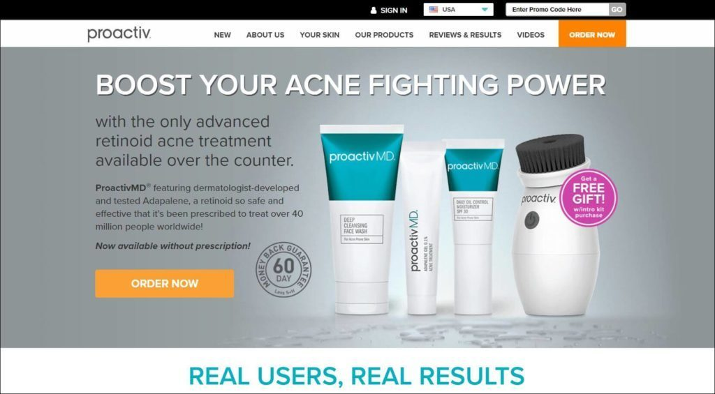 Proactiv official website