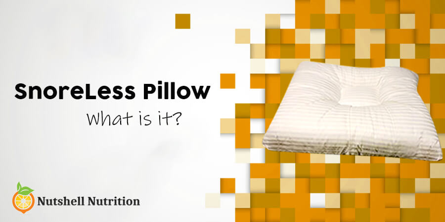 what is SnoreLess Pillow
