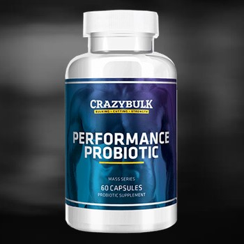 Performance Probiotic bottle