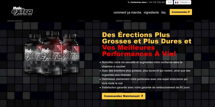 male extra site officiel