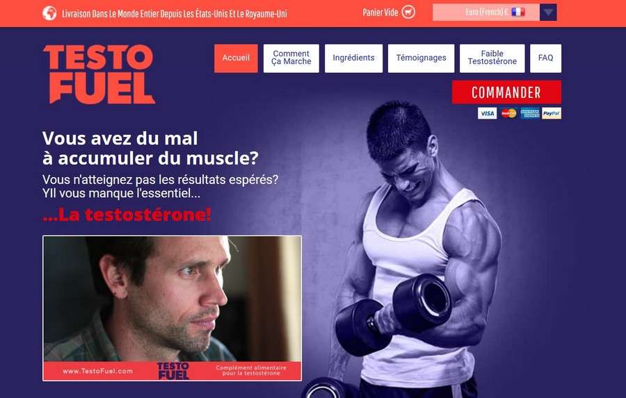 testofuel site officiel