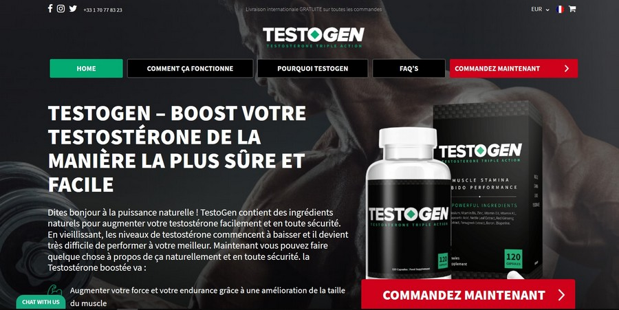 testogen site officiel