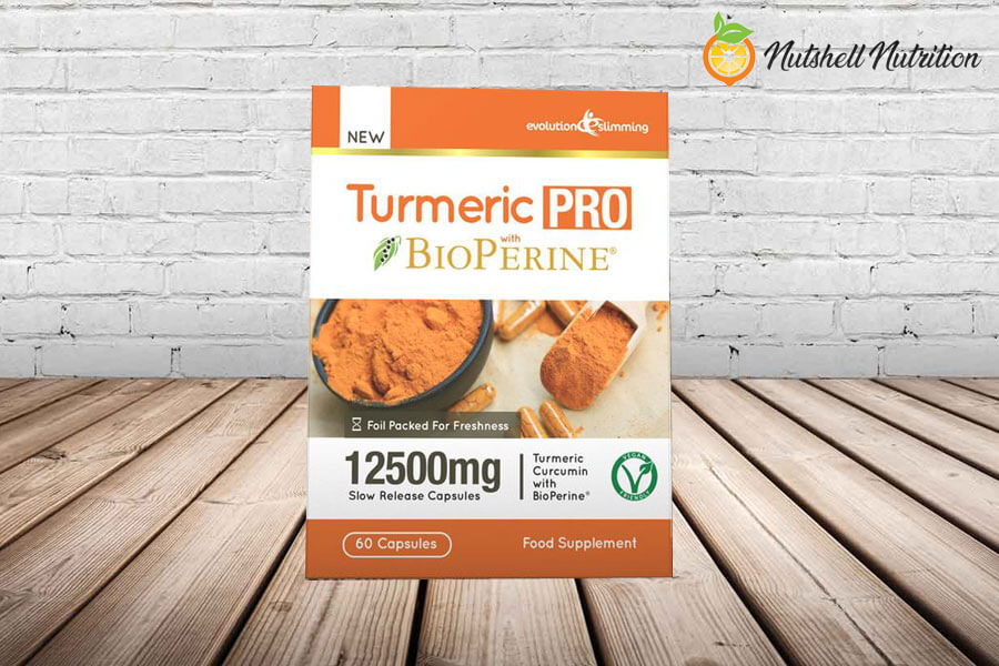 Evolution Slimming Turmeric Pro with BioPerine photo