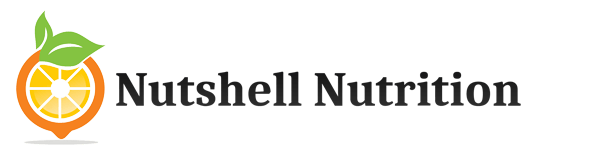 nutshell nutrition dietary supplements logo