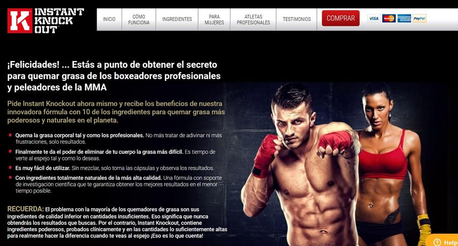 instant knockout sitio web oficial