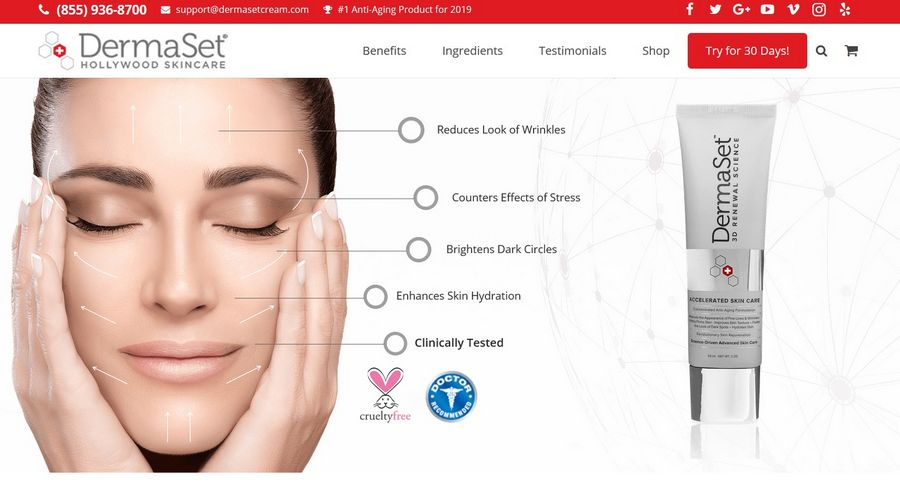 dermaset official website