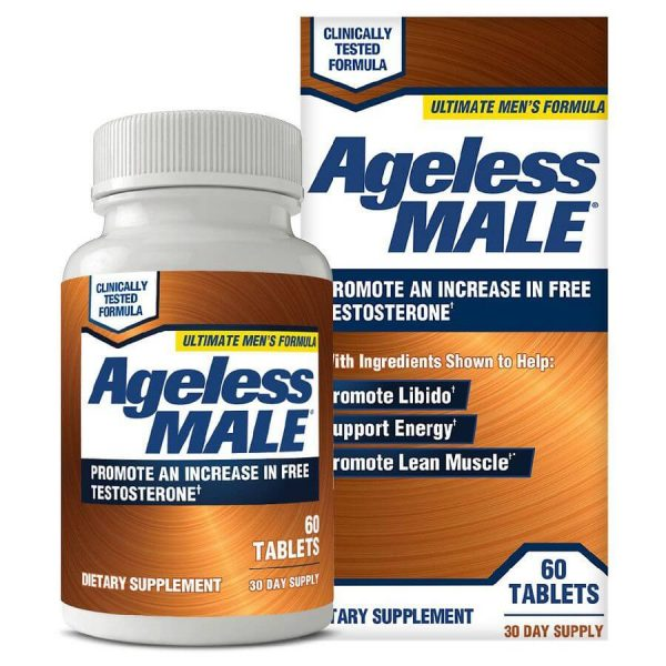 ageless male testosterone booster review - verdict