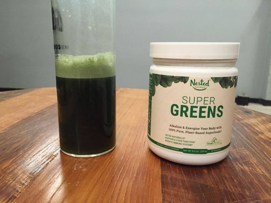 nested natural super greens real users reviews