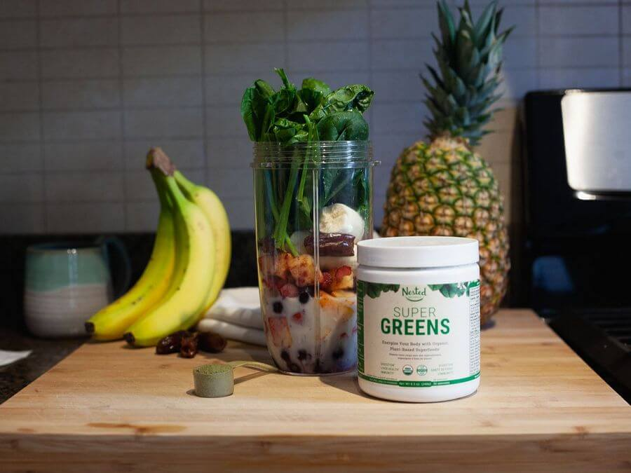 nested natural super green superfood review - verdict