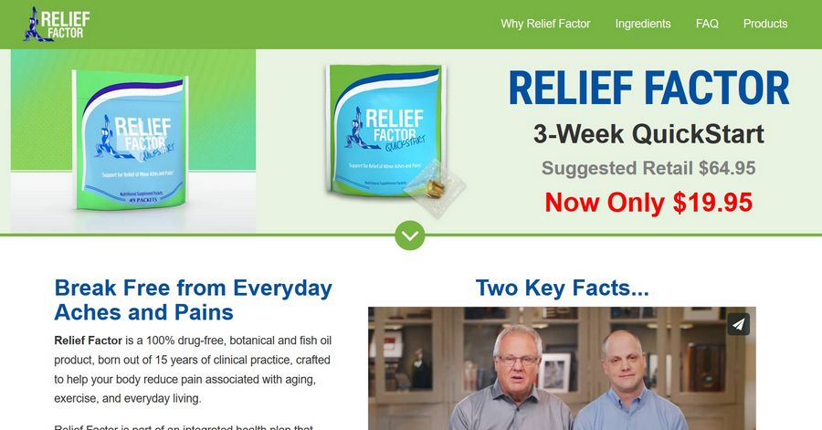relief factor best natural anti inflammatory supplement