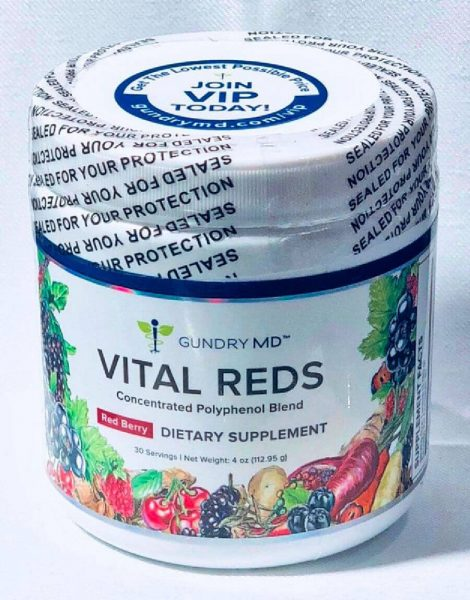 vital reds superfood supplement review - verdict