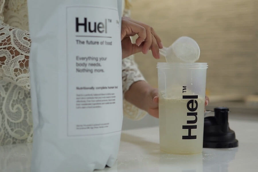 Huel Powder in bottle