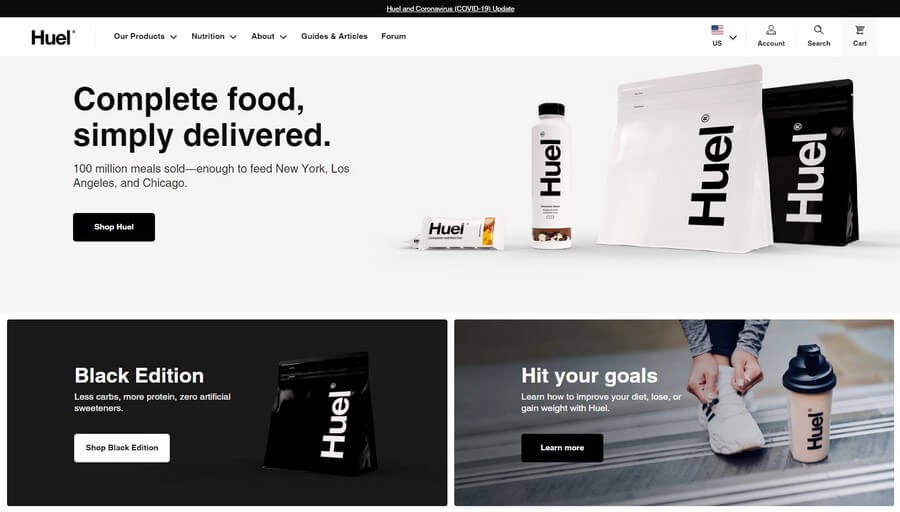 Huel Powder Official Website