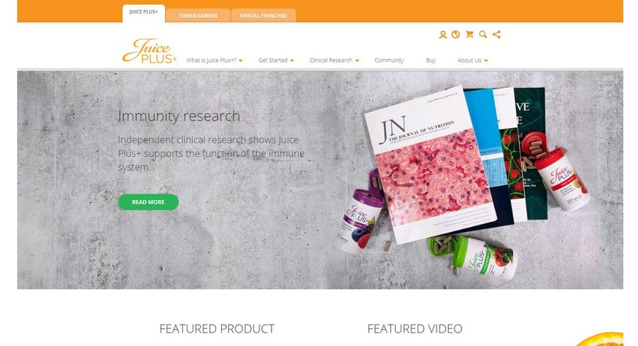 Juice Plus Official Website
