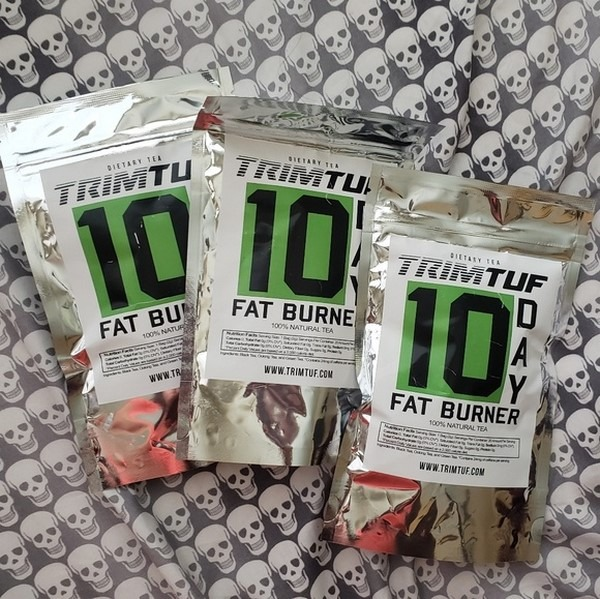 Trimtuf Fat Burner Tea packets