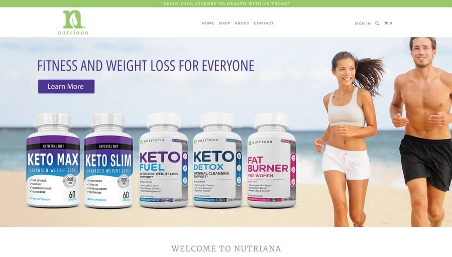 Keto Fuel official website