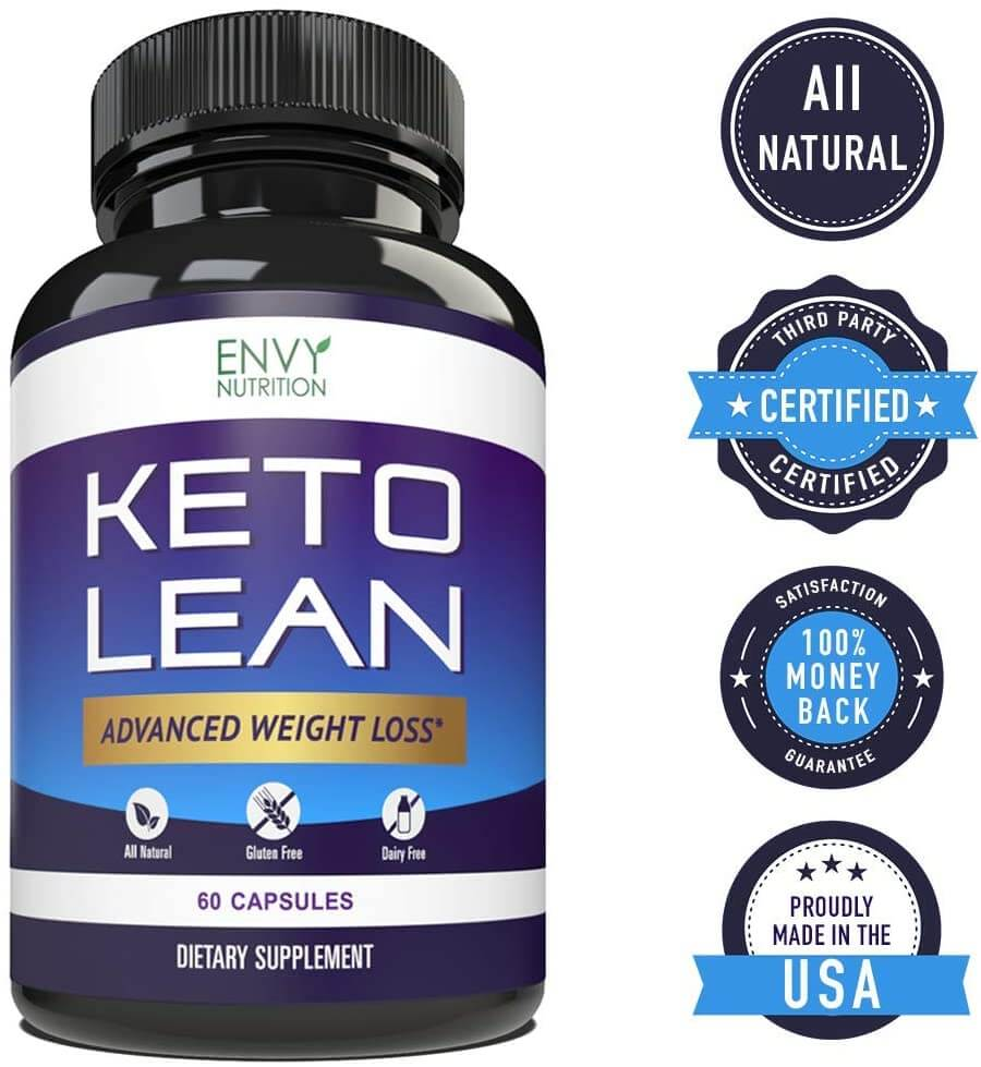 Keto Lean bottle